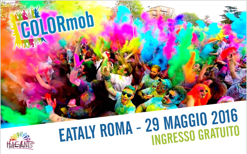 COLORmob Eataly Roma 2016