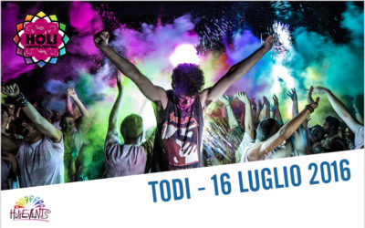 Holi Summer Festival Todi 2016