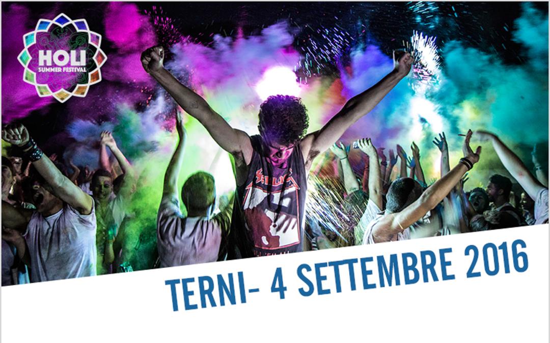 Holi Summer Festival Terni 2016