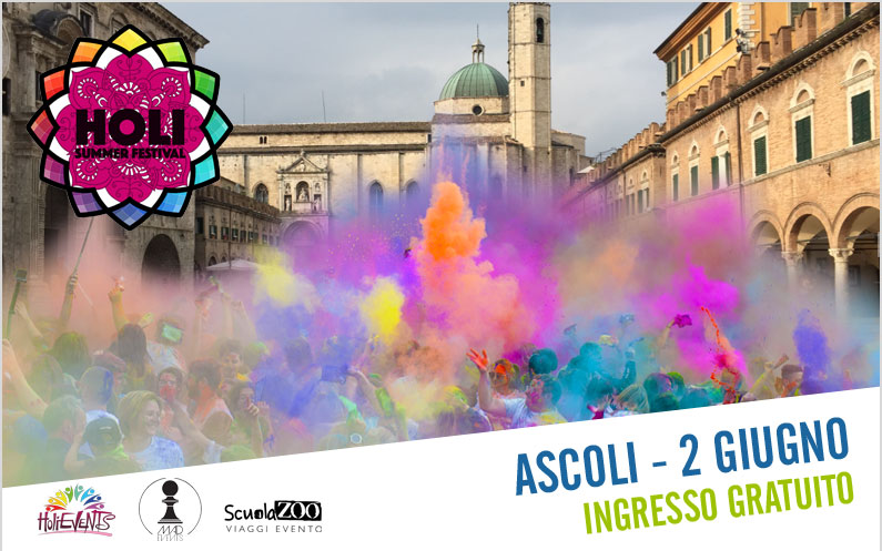 Holi Summer Festival Ascoli