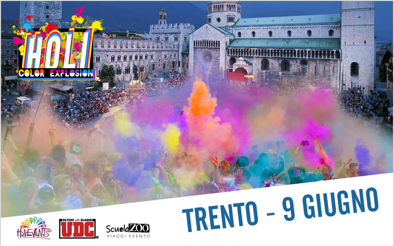 HOLI Color Explosion Trento