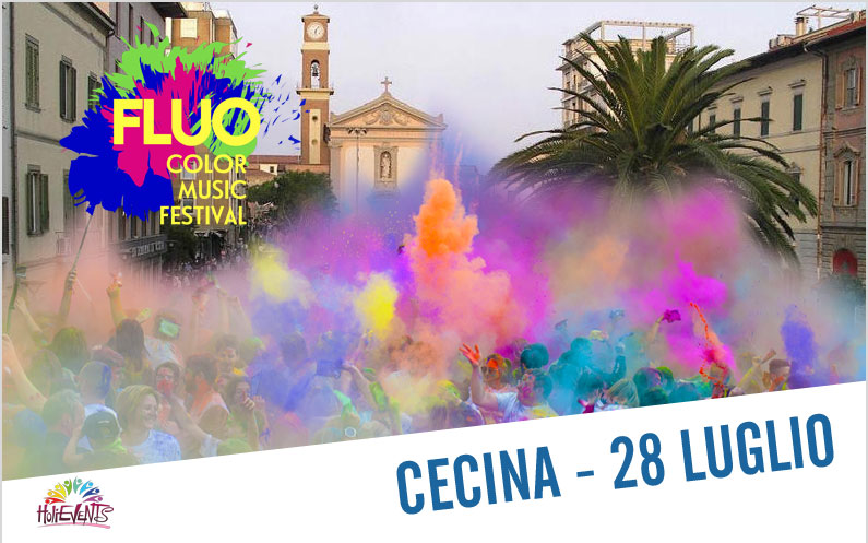 FLUO Color Music Festival Cecina