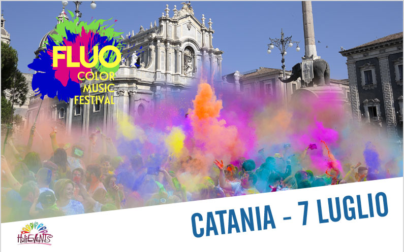 FLUO Color Music Festival Catania