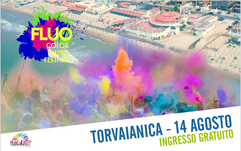 FLUO Color Music Festival Torvaianica
