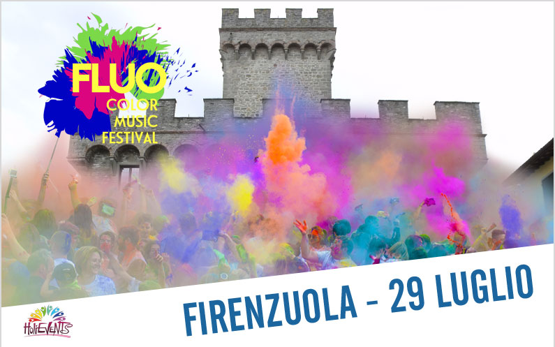 FLUO Color Music Festival Firenzuola