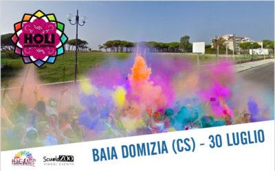 HOLI Summer Festival Baia Domizia