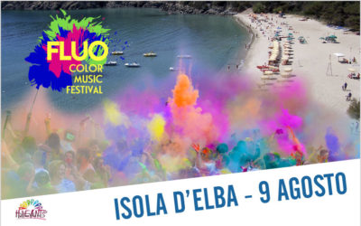 FLUO Color Music Festival Isola d'Elba