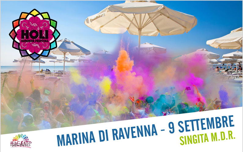 HOLI Beach Party Singita Marina di Ravenna