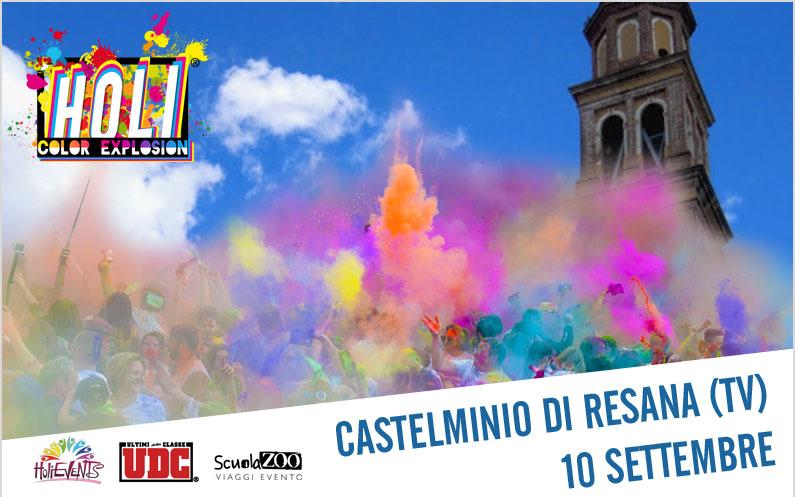 HOLI Color Explosion Castelminio di Resana