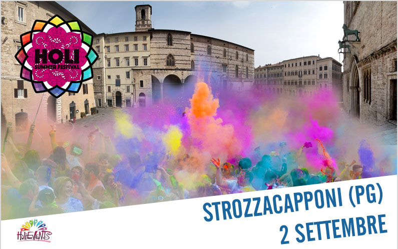 1 HOUR – HOLI Summer Festival Strozzacapponi